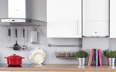 Кухни с газовым котлом: дизайн – вопросы и решения