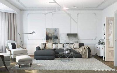 Неоклассика в интерьере: идеи дизайна квартир