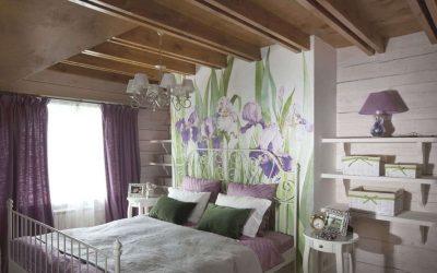 Спальня в стиле прованс — подборка идей оформления интерьера