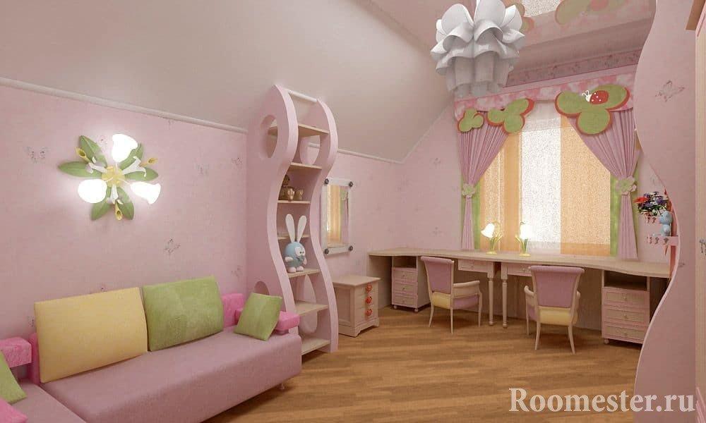 Функциональная мебель для девочек