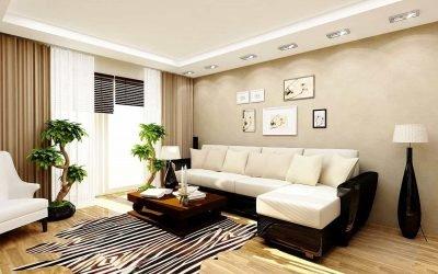 Дизайн гостиной 18 кв. м — идеи и решения (фото)