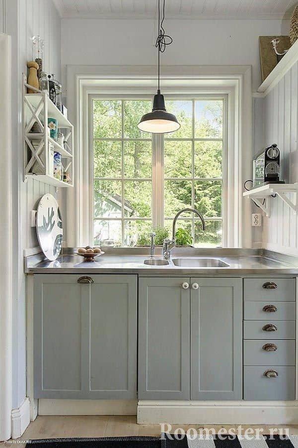 Окно украсит любую кухню