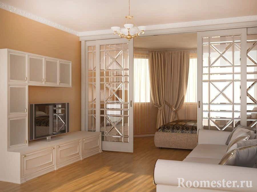 Планировка и дизайн трехкомнатной квартиры