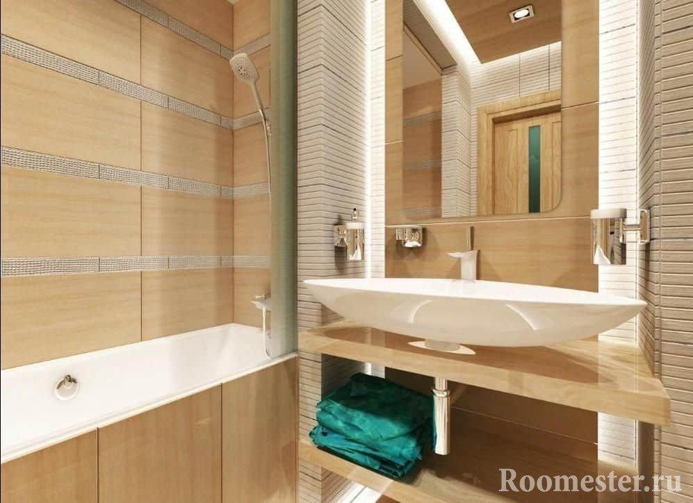 Как сделать дизайн ванной комнаты в хрущевке