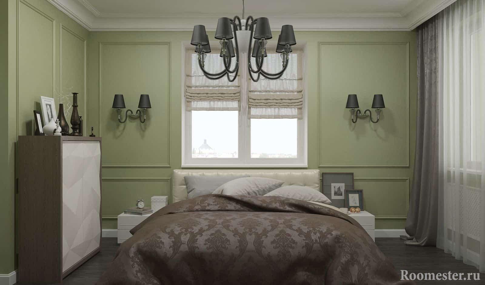 Спальня в стиле современная классика