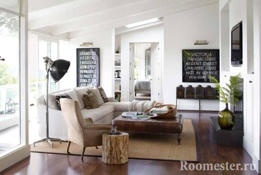 Винтажные предметы интерьера дополнят квартиру