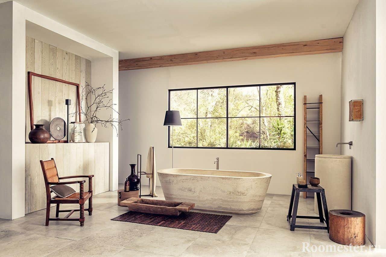 Ванная комната в винтажном стиле