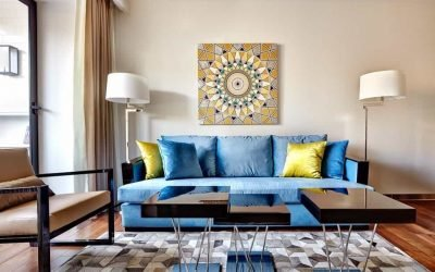 Дизайн двухкомнатной квартиры — планировки и интерьер (50 фото)