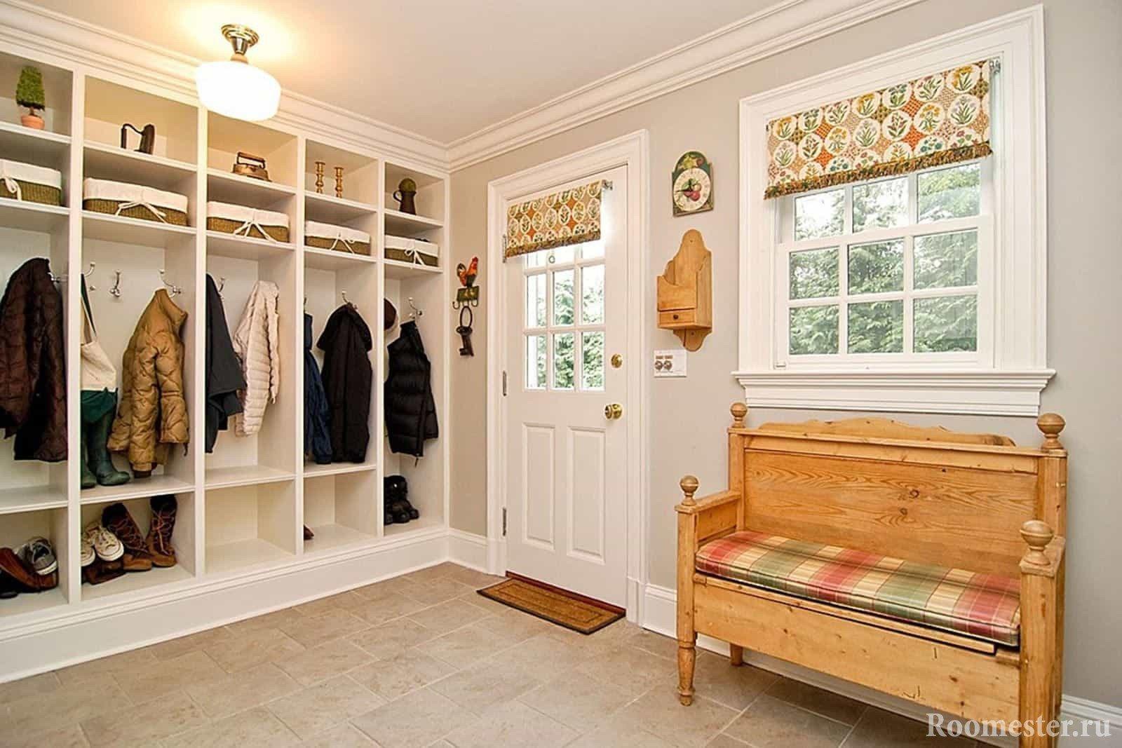 дизайн прихожей и коридора в частном доме