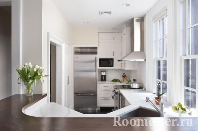 Дизайн интерьера кухни 6 кв м