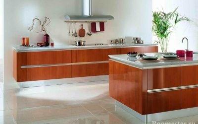 Дизайн кухни без верхних шкафов — идеи хранения, фото интерьера