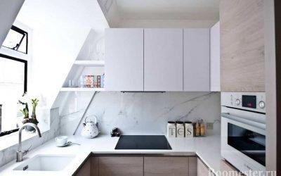 Дизайн кухни маленькой площади (30 реальных фото)