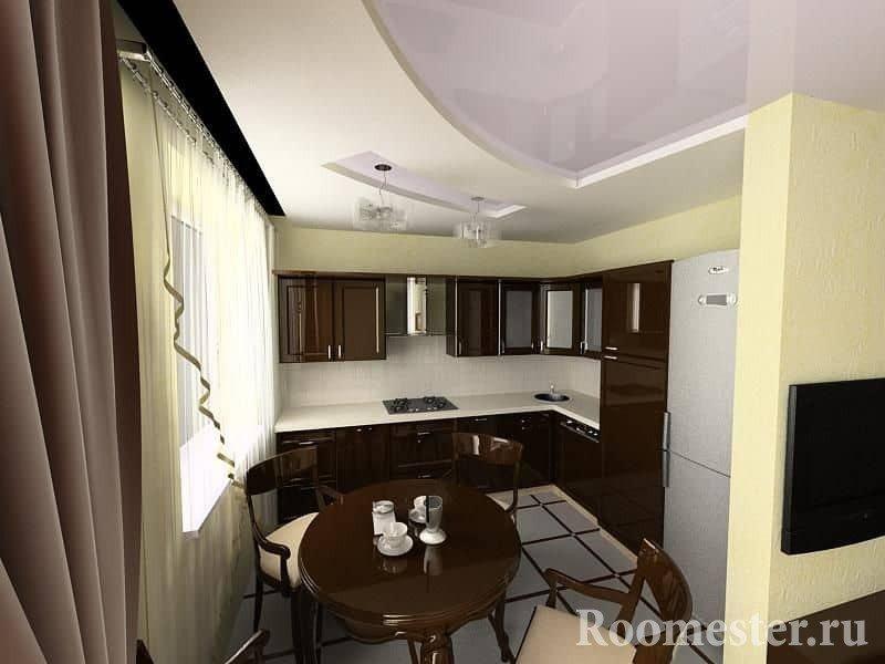 Кухня совмещенная с залом в хрущевке