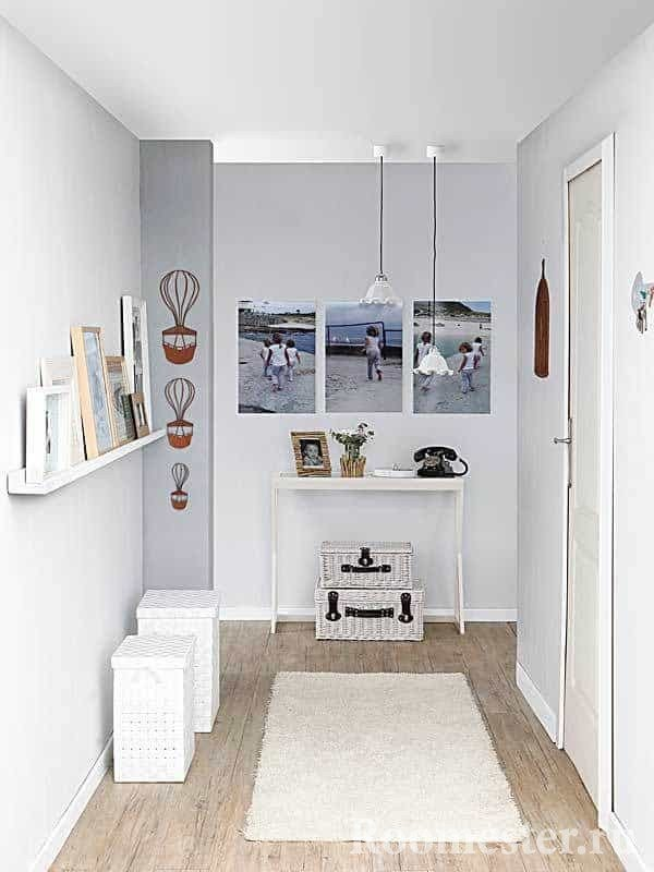 Small entrance hall of 6 square meters