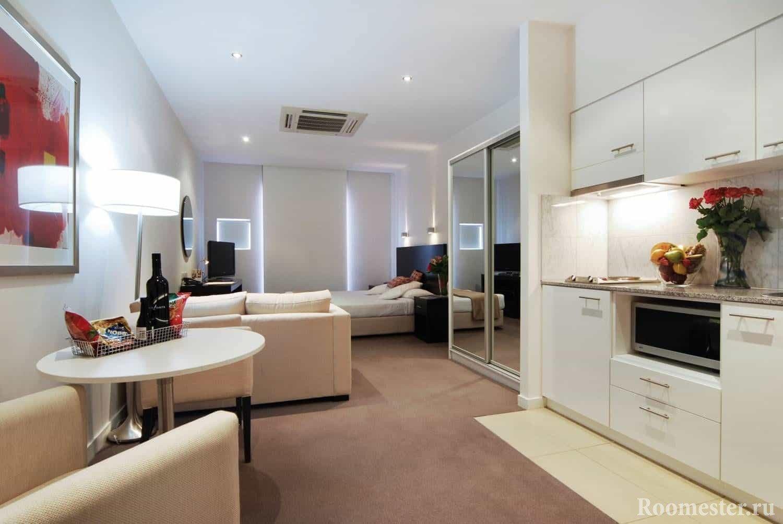 Квартира с подсветкой