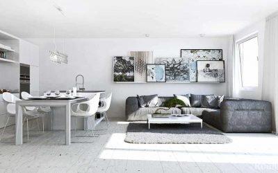 Дизайн квартиры-студии — от маленькой до большой (+30 фото)