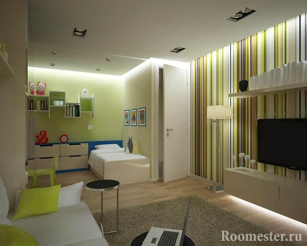 Комната для родителей с ребенком