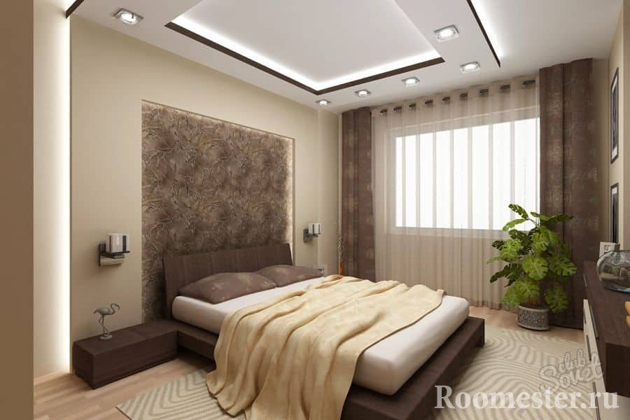 Modern bedroom design project