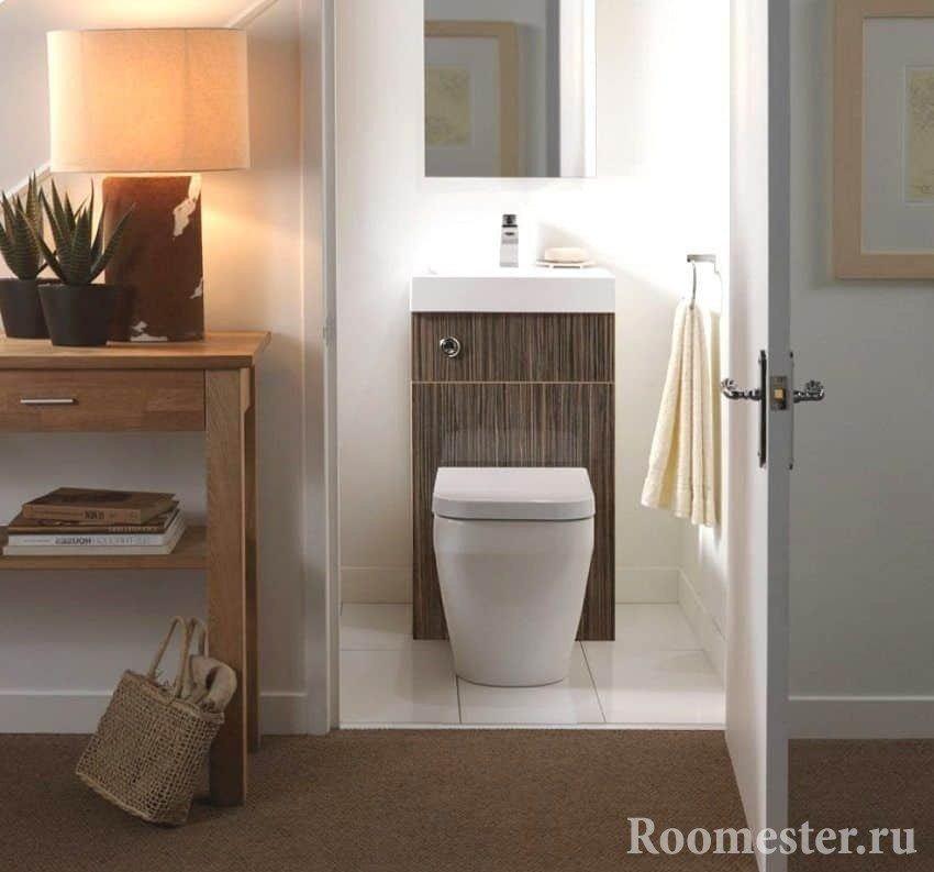 Туалет с комбоунитазом