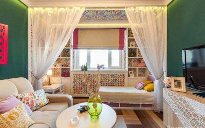 Дизайн гостиной и детской в одной комнате — примеры интерьера