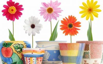 Декор цветочных горшков своими руками — 8 идей