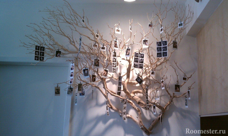 Декорация дерево своими руками