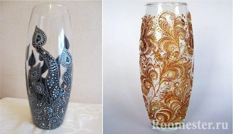 фото красивые вазы своими руками