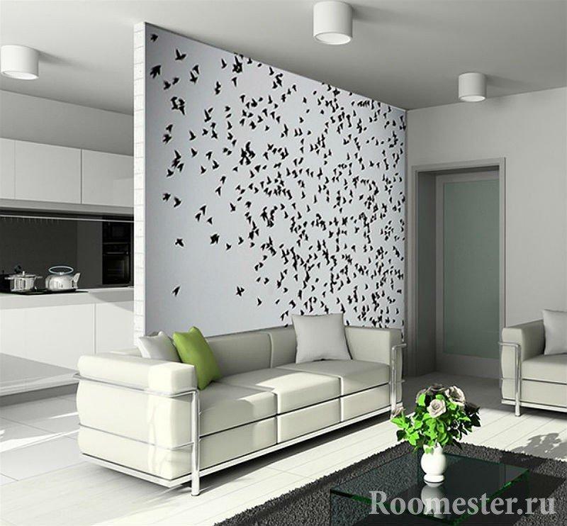 Проект разграничения комнаты