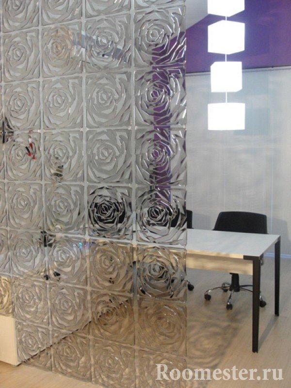 Сверхпрочное стекло в кабинете