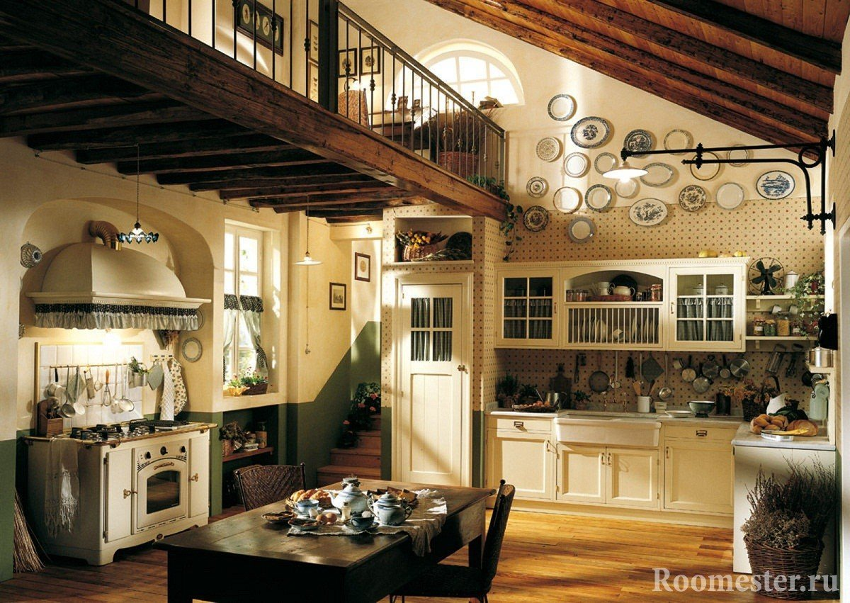 Второй свет над кухней