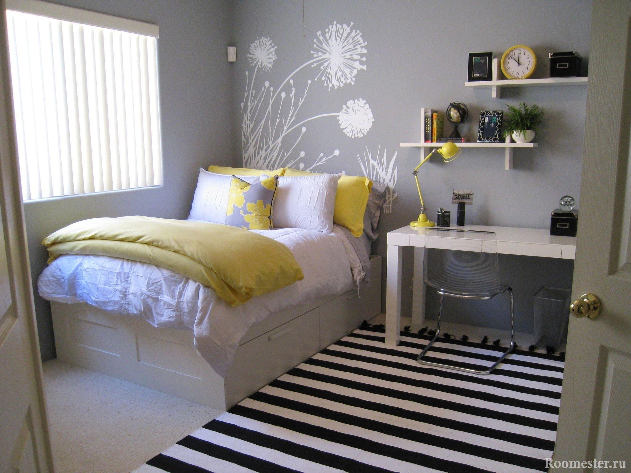 Маленькая комната девочки