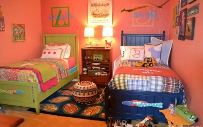 Дизайн детской для мальчика и девочки — в одной комнате