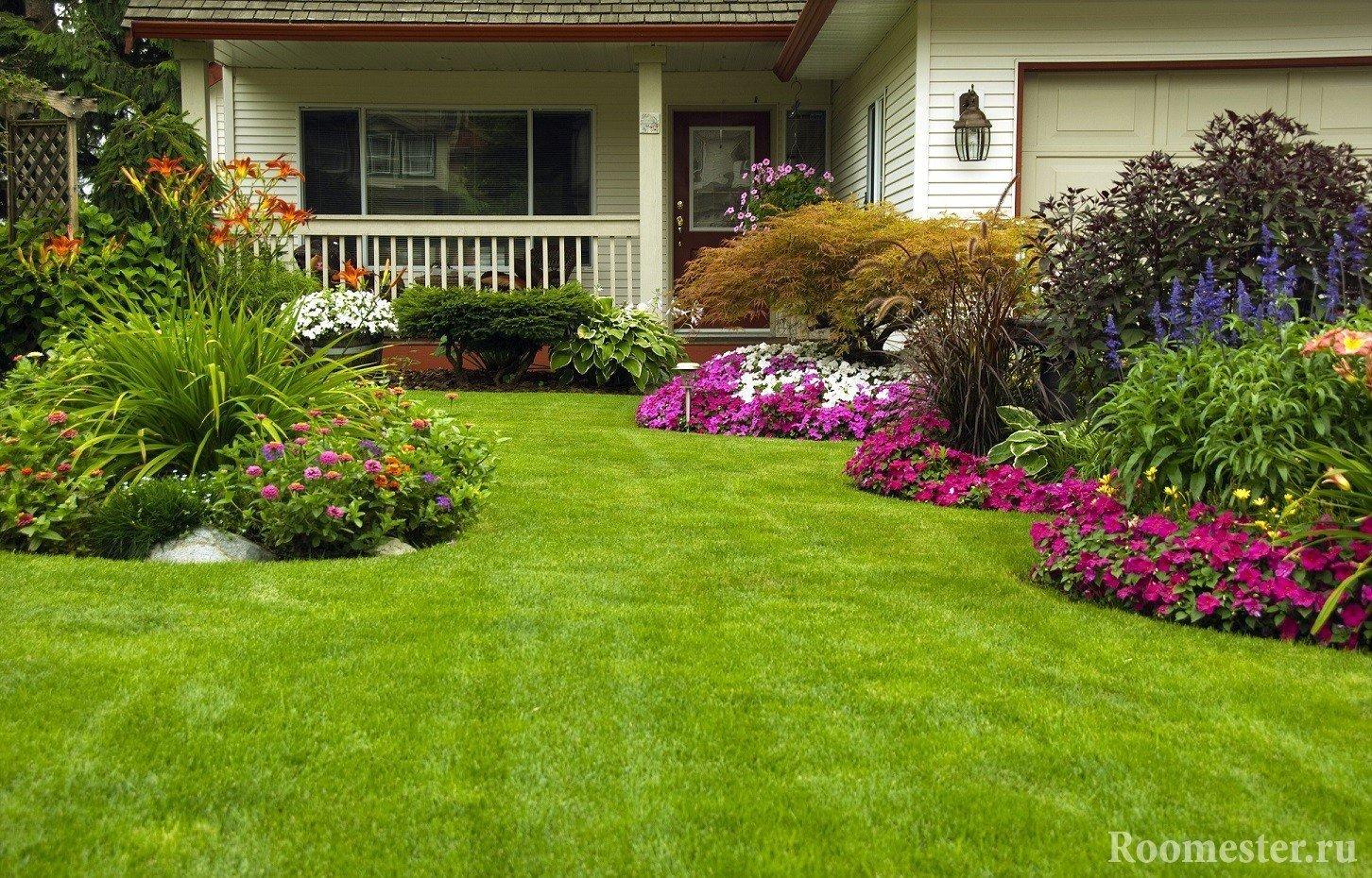 Отличный газон украсит любой участок