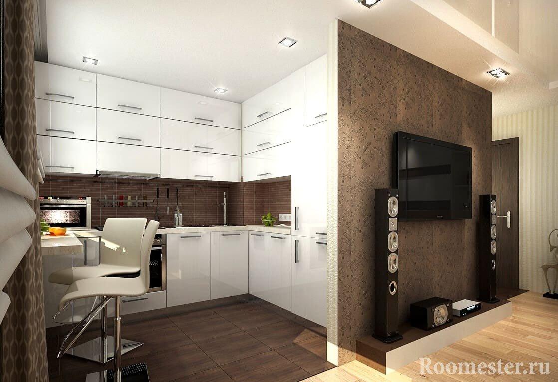 Пример интерьера квартиры