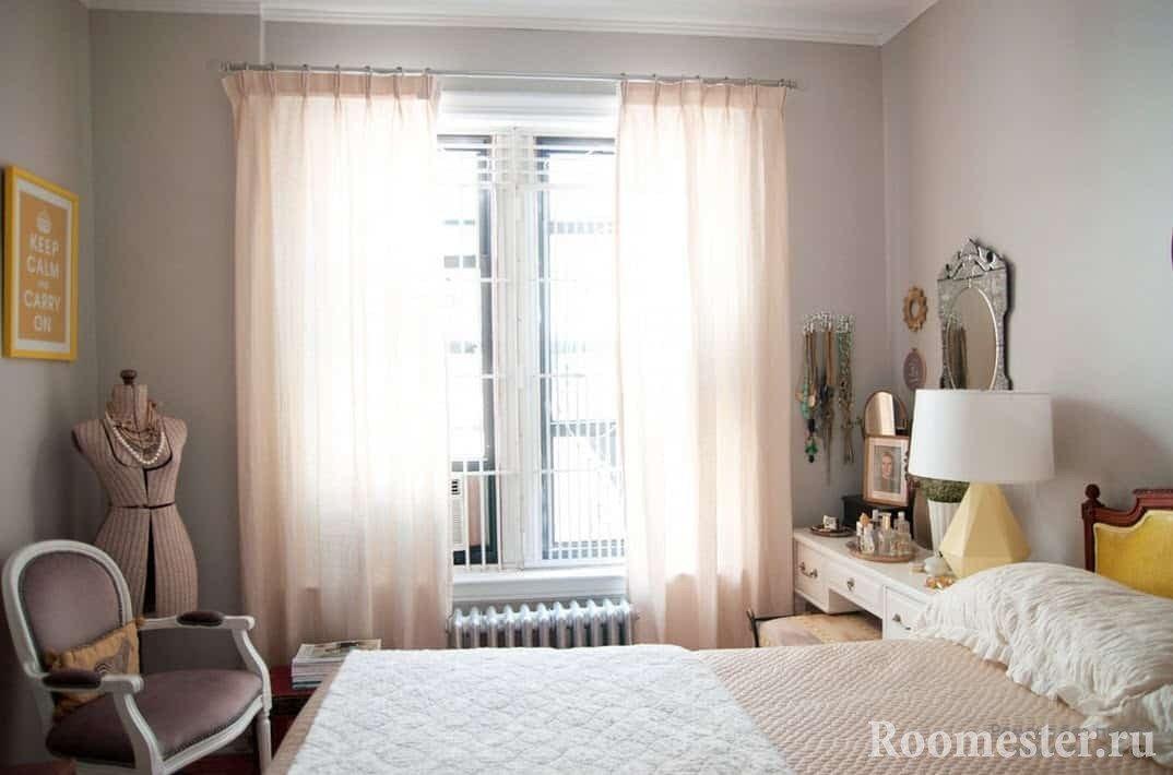 Дизайн спальни в хрущевке