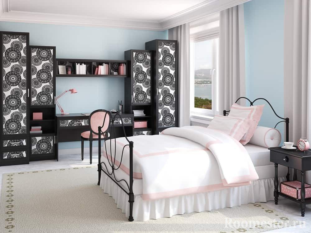 Интерьер комнаты для девушки