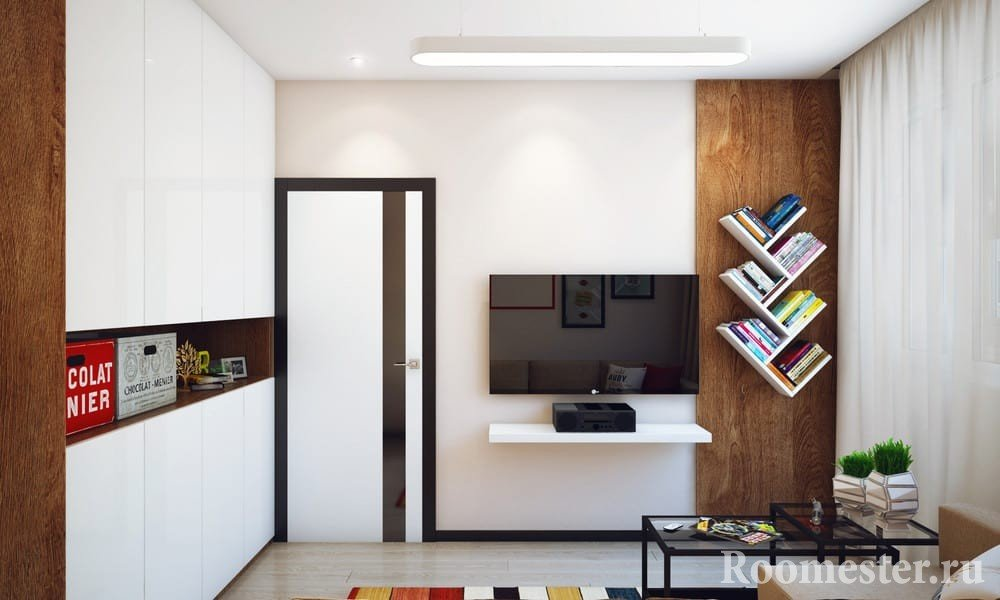 The interior in the style of minimalism