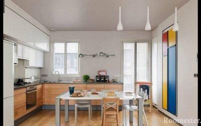 Современный дизайн кухни 12 кв. м
