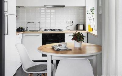Как сделать дизайн кухни в хрущевке современным