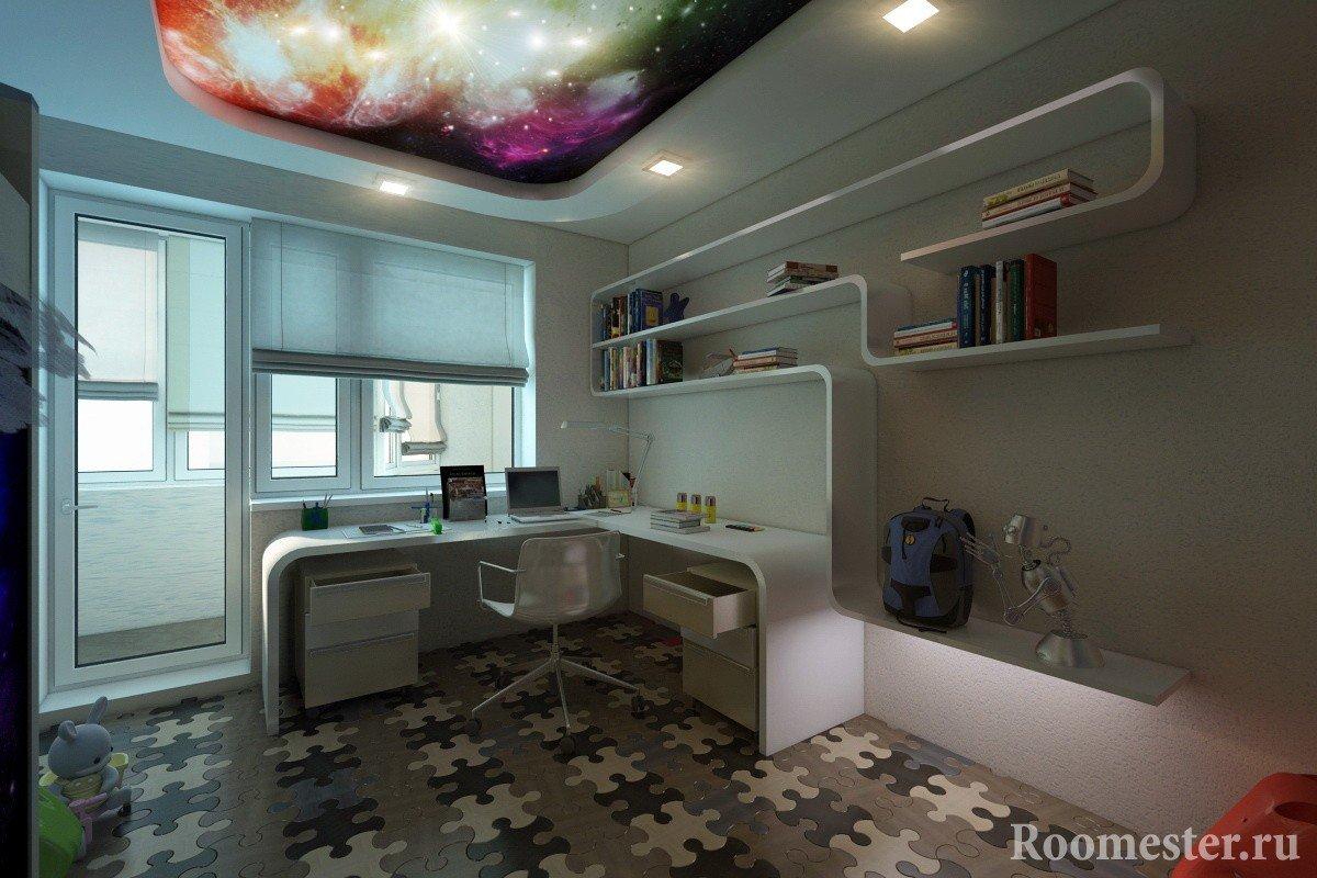 Детская комната в 3-х комнатной квартире