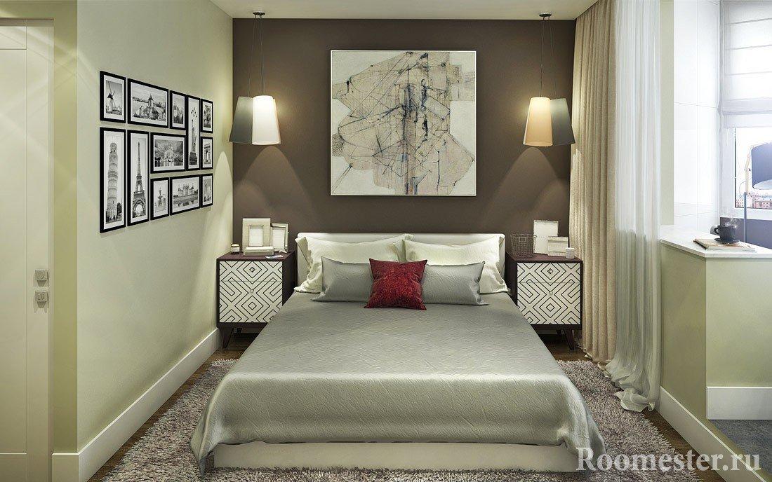 Спальня объединенная с балконом
