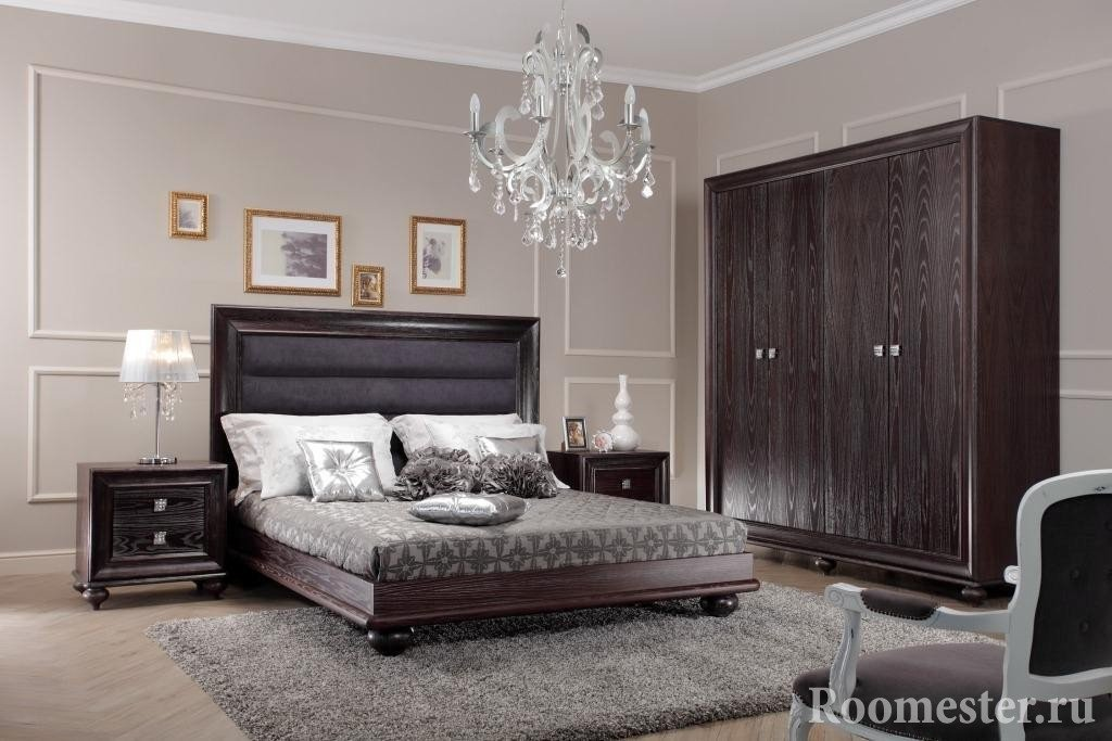 Спальня в доме серии п-44т