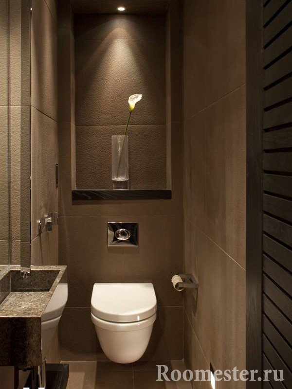 Стильный туалет