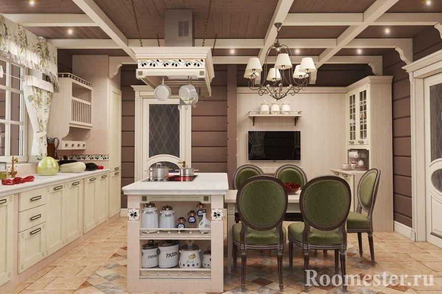интерьер дома из бруса внутри фото дизайна по комнатам