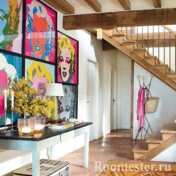 Картины в современном стиле для интерьера