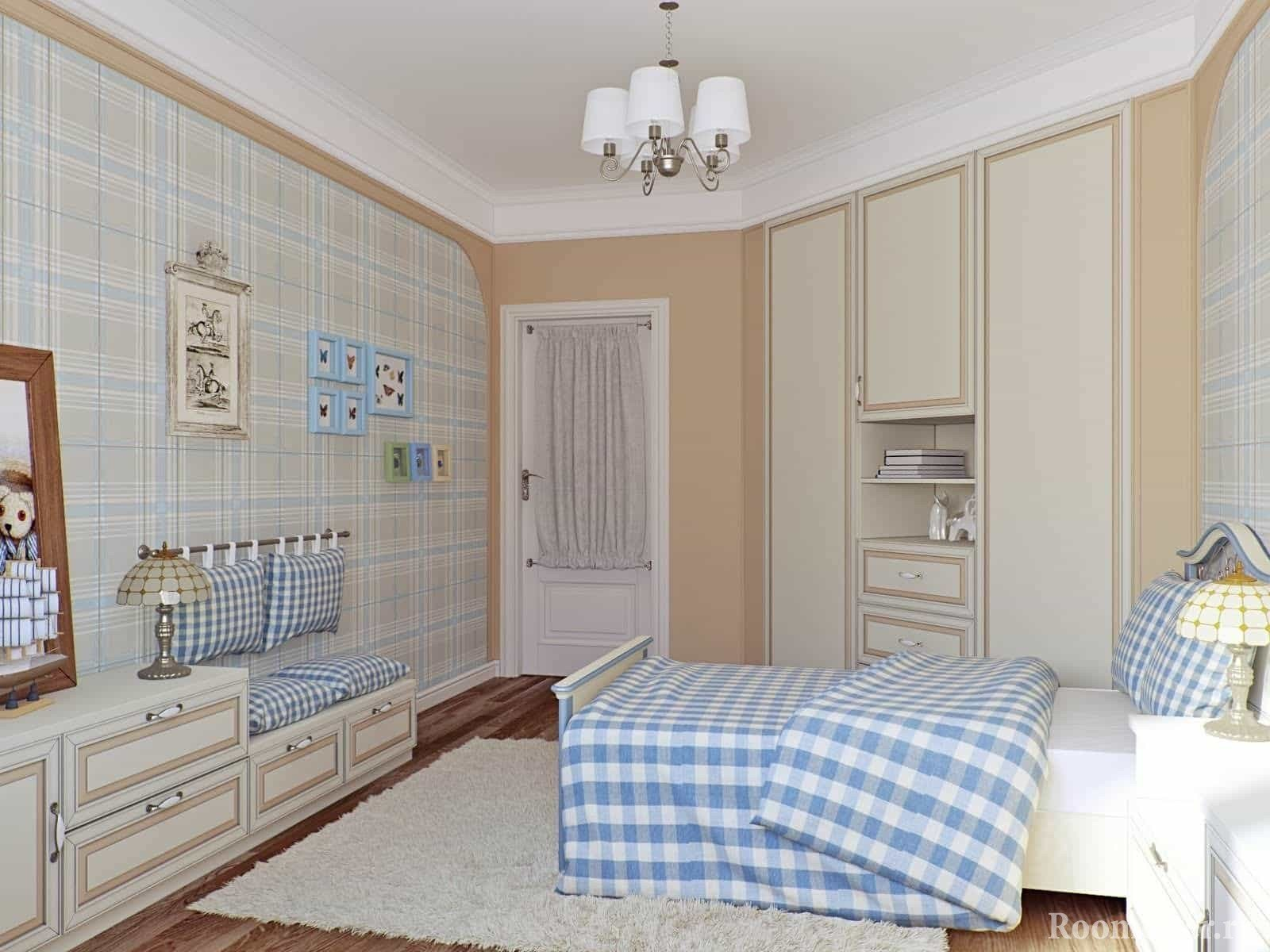 Спальня для подростка в стиле прованс