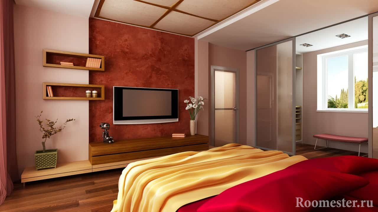 ТВ в спальне