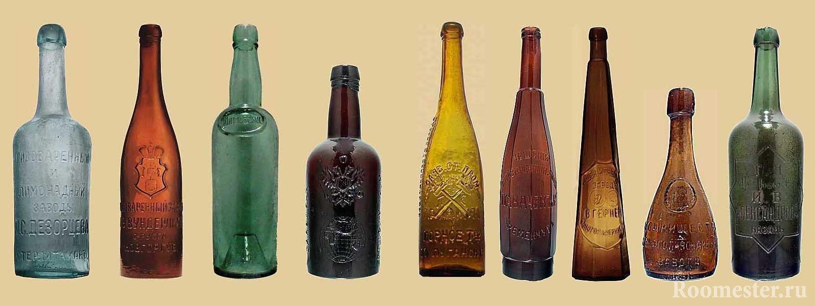 Старинная бутылка своими руками фото 879