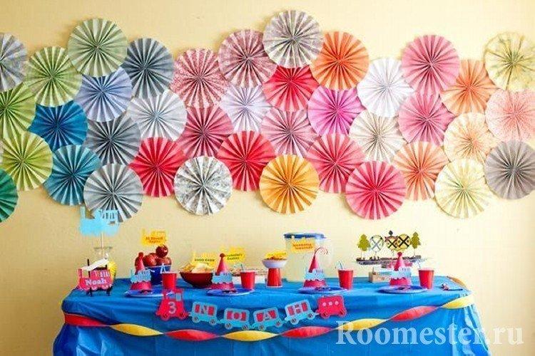 Праздничный стол для дня рождения