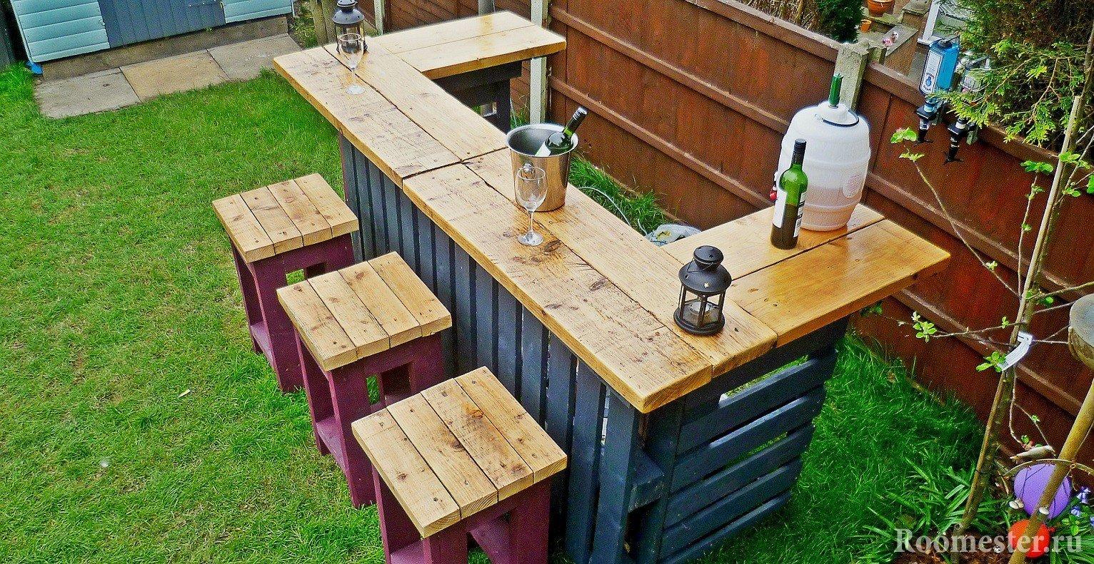 Использование деревяных поддонов